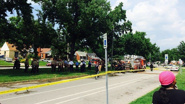 Police on scene of a fatal accident (Rob Sneed / KMOV)