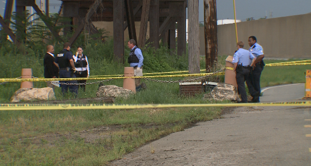 A body was found on North Market Friday morning (Credit: KMOV)