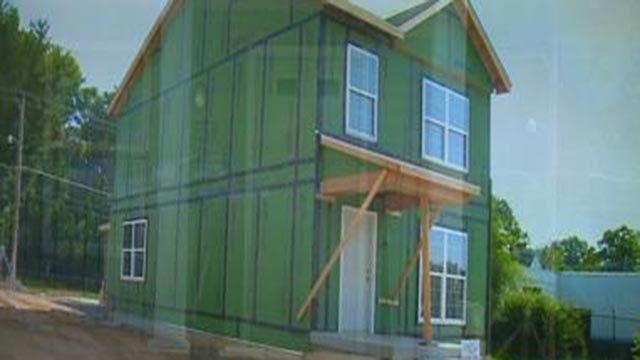 A home under construction in Hillsdale (Crfedit: KMOV)
