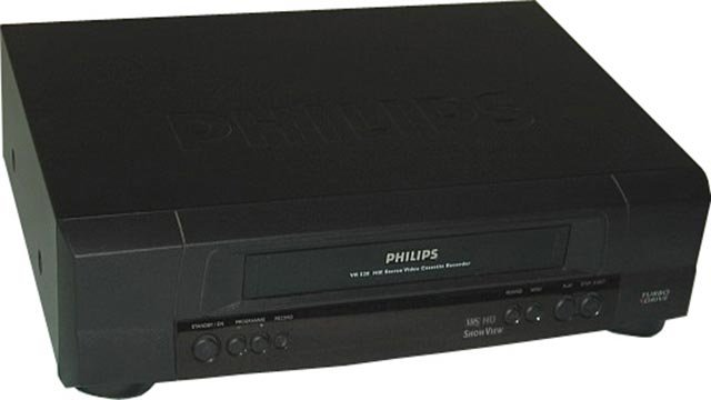 A Phillips VCR (Credit: Phillps)