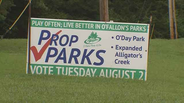 Voters in O'Fallon, Mo will soon decide whether to raise property taxes to build a new park. Credit: KMOV