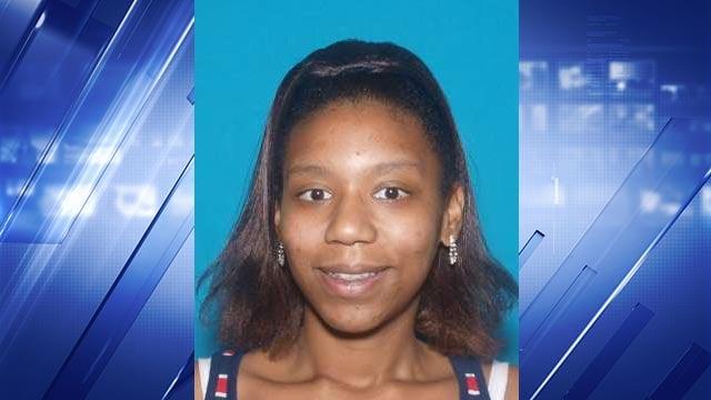 Kayisha Baker was last seen in Troy, Missouri Saturday (Credit: O'Fallon, Missouri Police Department)