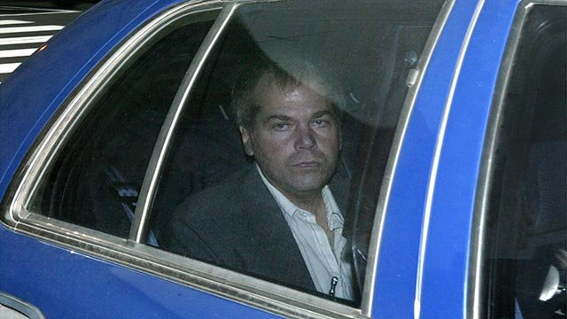 In this Nov. 18, 2003 file photo, John Hinckley Jr. arrives at U.S. District Court in Washington (Credit: Ap Photo / Evan Vucci, File)