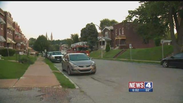 A shootout in 3900 block of Michigan Tuesday has left a 17-year-old in critical condition. Credit: KMOV
