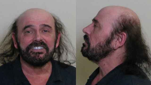 William Brown is accused of shooting his neighbor's dog in Granite City. The dog was euthanized due to the severity of his injuries. Credit: Madison County Sheriff's Office