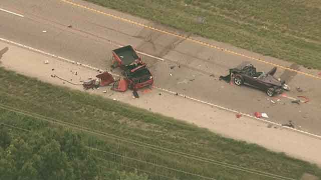 Two people died in head-on wreck in High Ridge Thursday afternoon