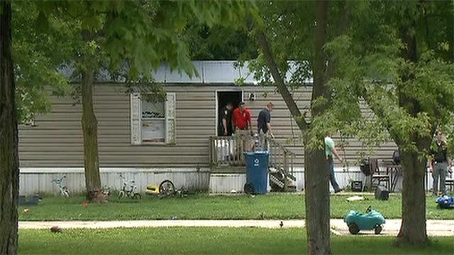 An infant was found dead at a trailer in the 100 block of Tara Court in Alton Friday (Credit: KMOV)