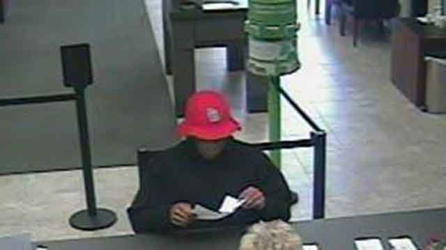 This man robbed a Regions Bank branch in Sunset Hills Friday morning. Credit: Sunset Hills PD