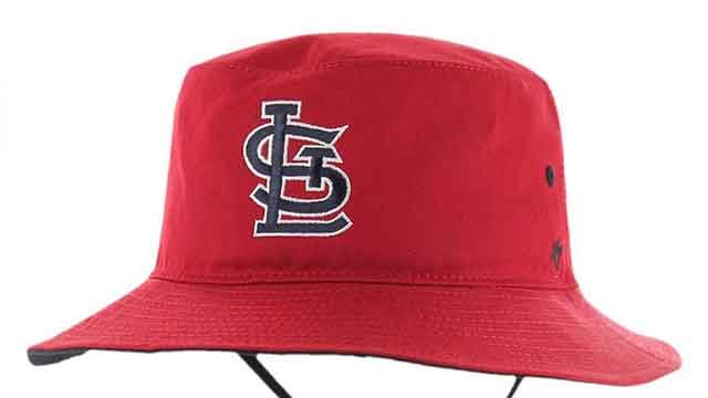 Police believe the man who robbed a bank in Sunset Hills Friday morning was wearing this hat. Credit: Sunset Hills PD
