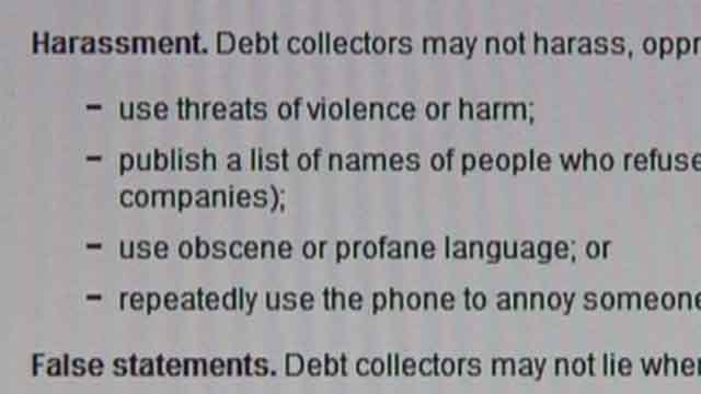 New proposed rules to regulate the debt collection industry. Credit: KMOV