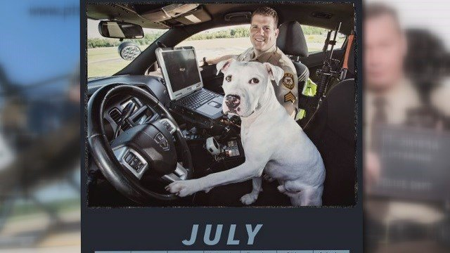Pits & Police 2017 Calendar (Credit: St. Louis County PD)