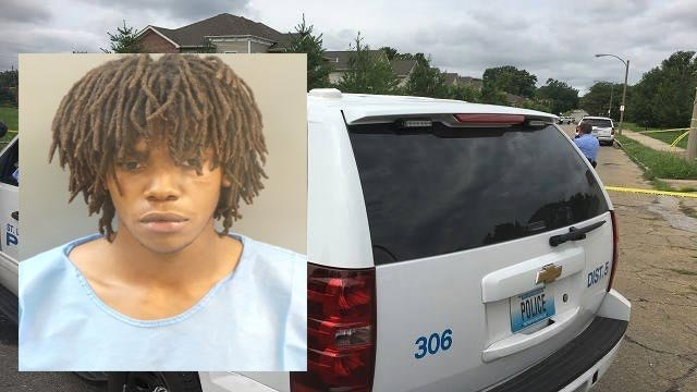 Darquise Gowdy, 21, is accused of fatally stabbing his mother and brother in the 3900 block of St. Ferdinand Tuesday (Credit: Police)