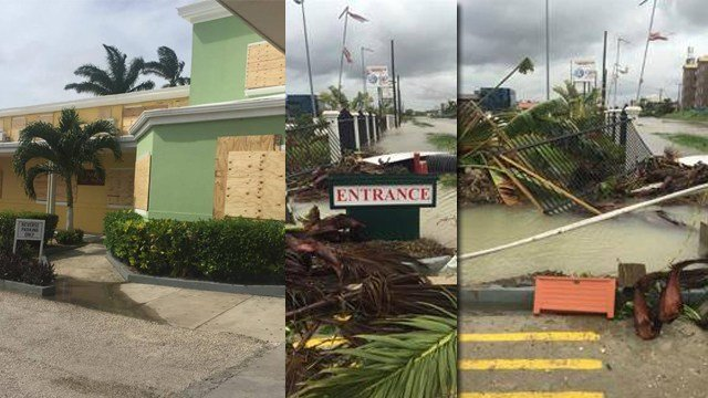Destruction in Belize  left behind by Hurricane Earl. (Credit: First Assembly of God Church Farmington, KMOV)