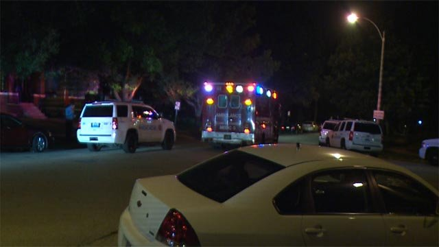 A man was shot and killed in the 5800 block of DeGiverville Thursday (Credit: KMOV)