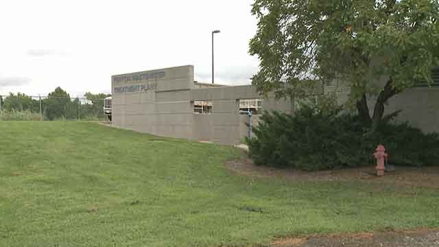 MSD's wastewater plant in Fenton. Credit: KMOV