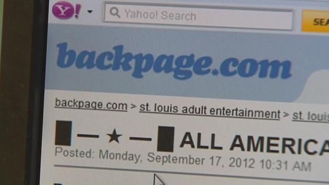 Sex trafficking website faces legal action (Credit: KMOV).