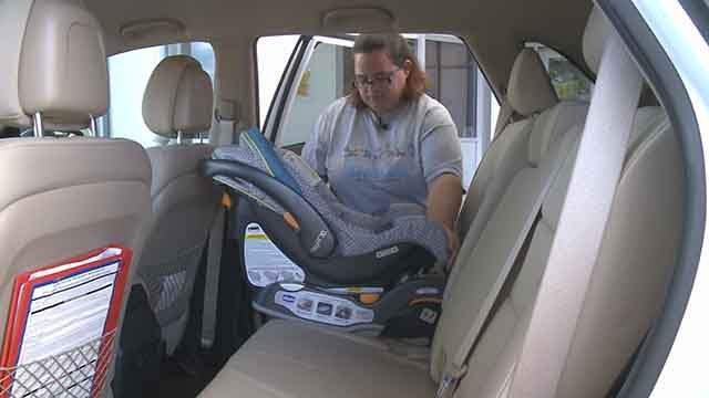 Ranken Jordan Pediatric Bridge Hospital will help parents install car seats in their vehicle. Credit: KMOV