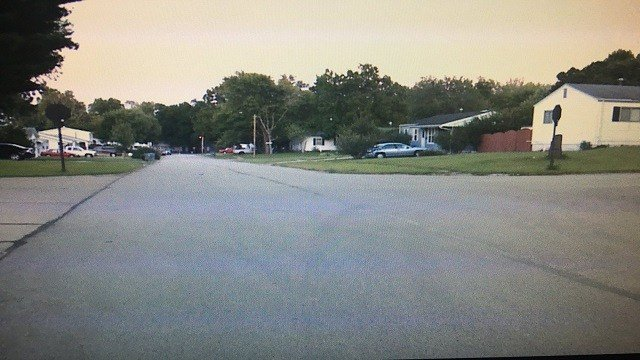 A naked man approached young girls selling lemonade on August 20 at Brisco Ave. and Love Dr. in O'Fallon, Mo. (Credit: KMOV)