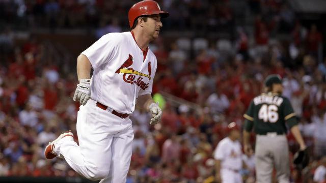 St. Louis Cardinals infielder Jedd Gyorko. (AP Images)