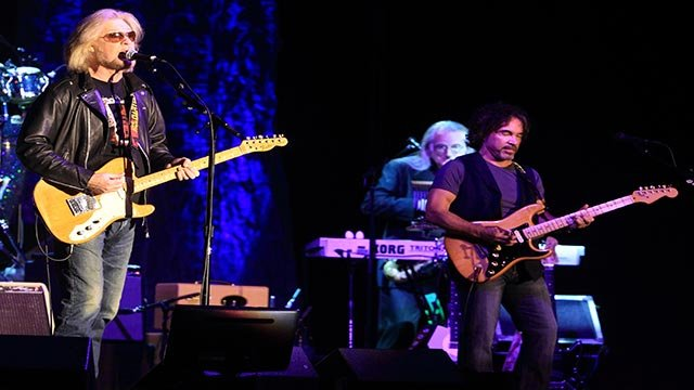 Daryl Hall & John Oates perform in concert at the Sands Event Center on Monday, September 30, 2013, in Bethlehem, Pa. (Photo by Owen Sweeney/Invision/AP)