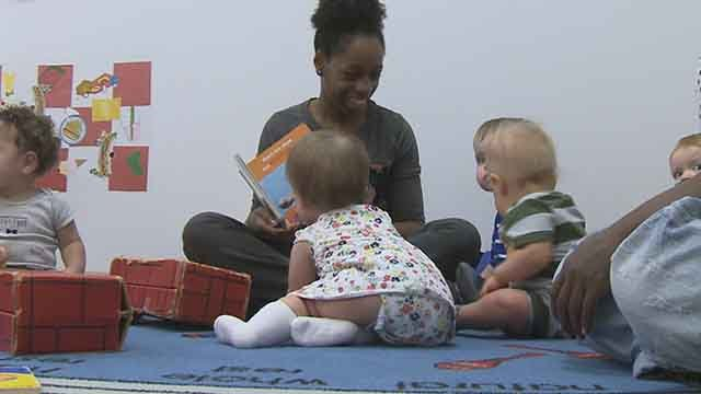Child Garden Early Childhood Center teaches kids of all background and abilities., capitalizing on each child's uniqueness. Credit: KMOV