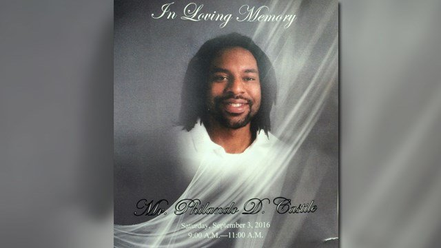Philando Castile was laid to rest next to his grandmother in Calvary Cemetery. (Credit: KMOV).
