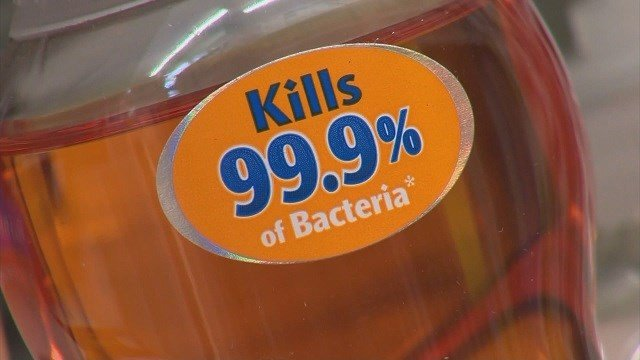 FDA banned more than a dozen chemicals being used in antibacterial soaps (Credit: KMOV).