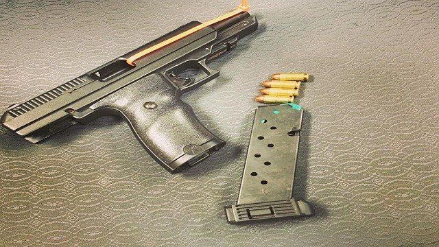 A 12-year-old boy was taken into custody when police discovered he was allegedly carrying a gun in Jennings (Credit: St. Louis County PD).