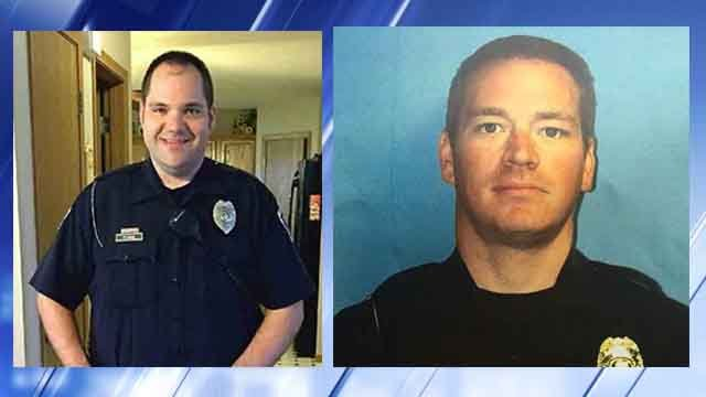 Officer Flamion and Officer Tudor are rehabbing their injuries at Craig Hospital in Colorado. (Credit: KMOV).
