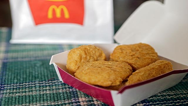 McDonald's Chicken McNuggets (Credit: AP Photo / Mark Duncan, File)