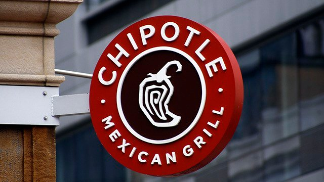 Chipotle is taking part in a test in September 2016 that will let some Virginia Tech students and staff have their favorite tortilla-wrapped meal delivered by drone.  (AP Photo/Chris O'Meara, File)