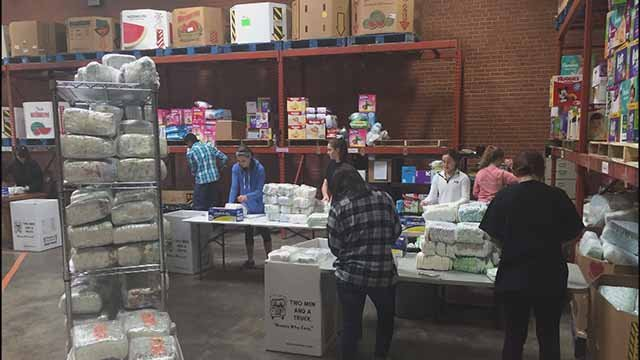 St. Louis Area Diaper Bank. Credit: KMOV