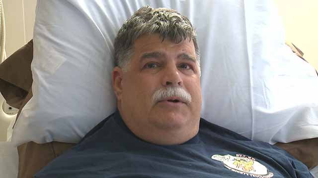 Bob Abell is battling terminal brain cancer. A truck belonging to him and his wife was stolen from outside their home. Credit: KMOV