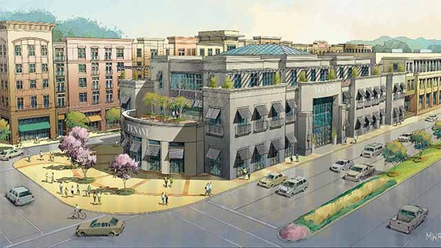 Developers are hoping to finish phase two of the Boulevard in Richmond Heights. Credit: City of Richmond Heights