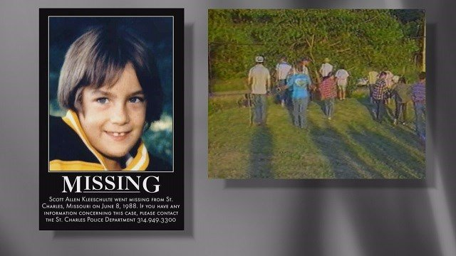 The case of Scott Kleeschulte is still unsolved since he vanished in 1988 (Credit: KMOV).