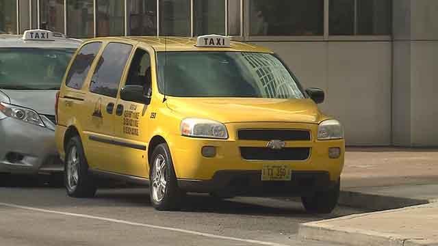 A taxi. Credit: KMOV