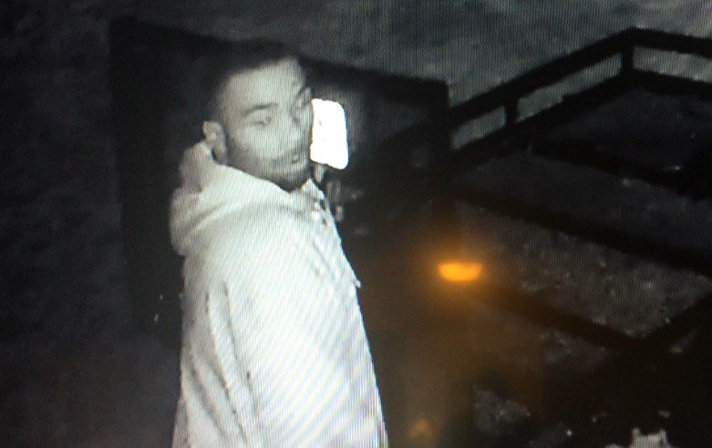 Surveillance photo of thief in rash of car break-ins in Jefferson County (Credit: Jeff Sonntag).
