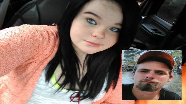 Harley M Hopper, 13, is believed to be with Kenneth Dylan Whitehead, 22 (Credit: Dent County Sheriff's Office)