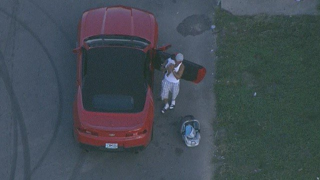 A child was found safe after the vehicle it was in was stolen from a North City gas station (KMOV)