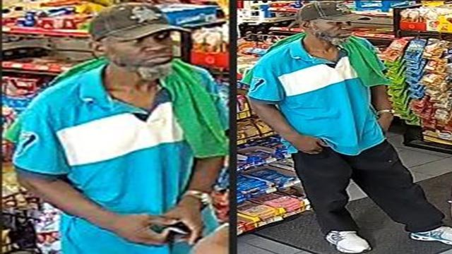 Anyone who recognizes the suspect should contact the St. Louis Police Department (Credit: St. Louis Police Department)