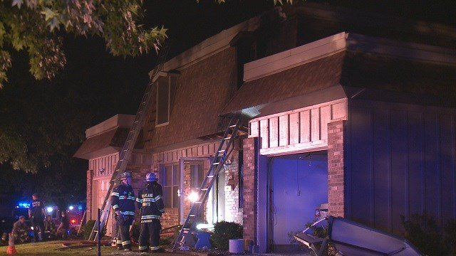 One person transported to local hospital after hosue fire broke out early Monday. (Credit:KMOV)