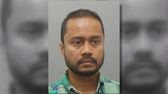 A West County restaurant owner, Mohaimenul Hoqe, is being charged with stealing the identity of one of his customers to go on a weekend trip (Credit: St. Louis County Police Department).