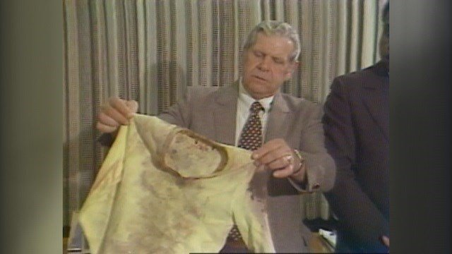 A little girl was found decapitated with a yellow sweater in a vacant St. Louis home in the 1980s (Credit: KMOV).