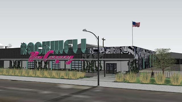 Rendering of Rockwell Brewery (Credit: Rockwell Beer)