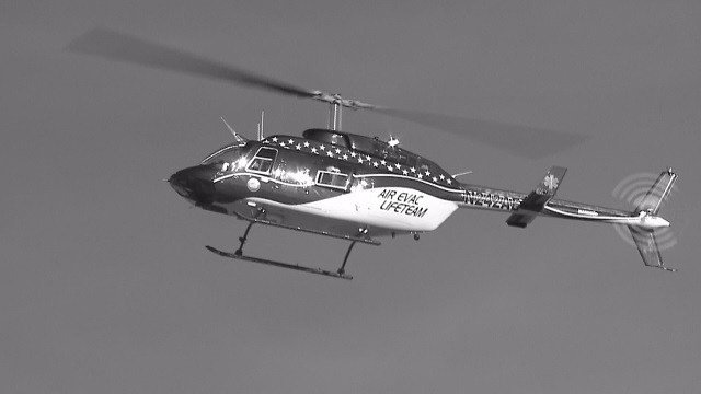Air Evac is based in O'Fallon, Missouri and dispatches life saving medical helicopters in 16 states (Credit: KMOV).