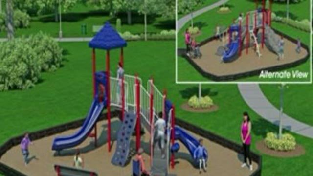 Rendering of the 'Play 4 All' playground in Ferguson (Credit: Play 4 All)