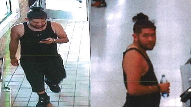 Cloned credit card theft suspect (Credit: O'Fallon, Mo. Police Department)