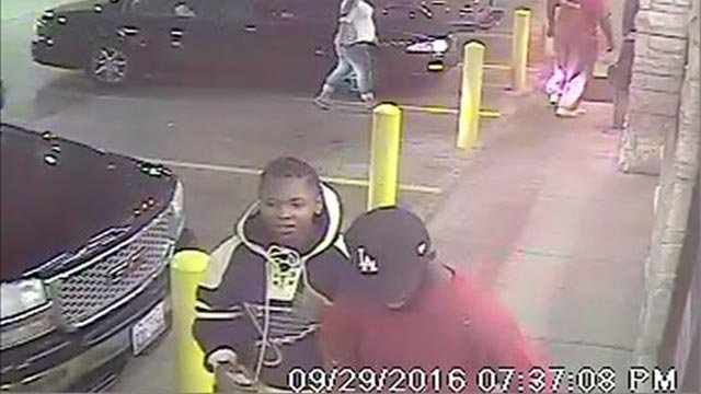 Friday morning police released surveillance photos of the shooting suspects (Credit: St. Louis Police Department)