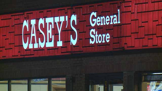 A man was shot in Alton and ran to a Casey's General Store on Fosterburg Road Thursday for help. Credit: KMOV