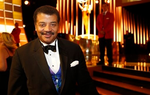 EXCLUSIVE - Neil deGrasse Tyson poses backstage at the Television Academy's Creative Arts Emmy Awards at Microsoft Theater on Saturday, Sept. 12, 2015, in Los Angeles. (Photo by Colin Young-Wolff/Invision for the Television Academy/AP Images)